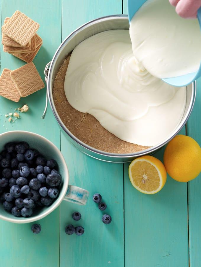 Lemon Blueberry Cheesecake slider image 2