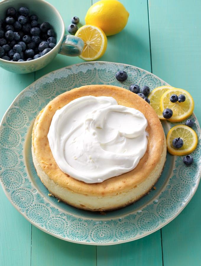 Lemon Blueberry Cheesecake slider image 3