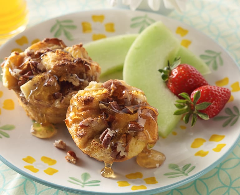 View recommended Easy Maple Pecan French Toast Cups recipe