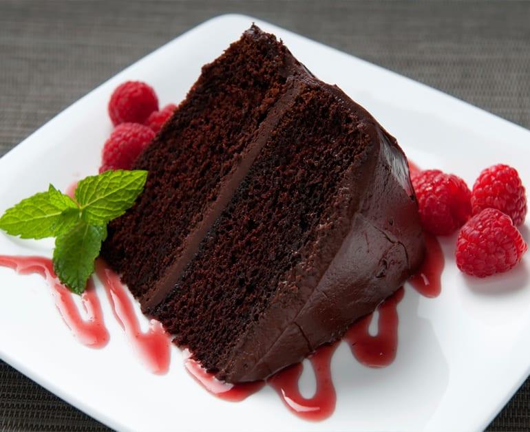 Marshmallow Chocolate Cake slider image 1