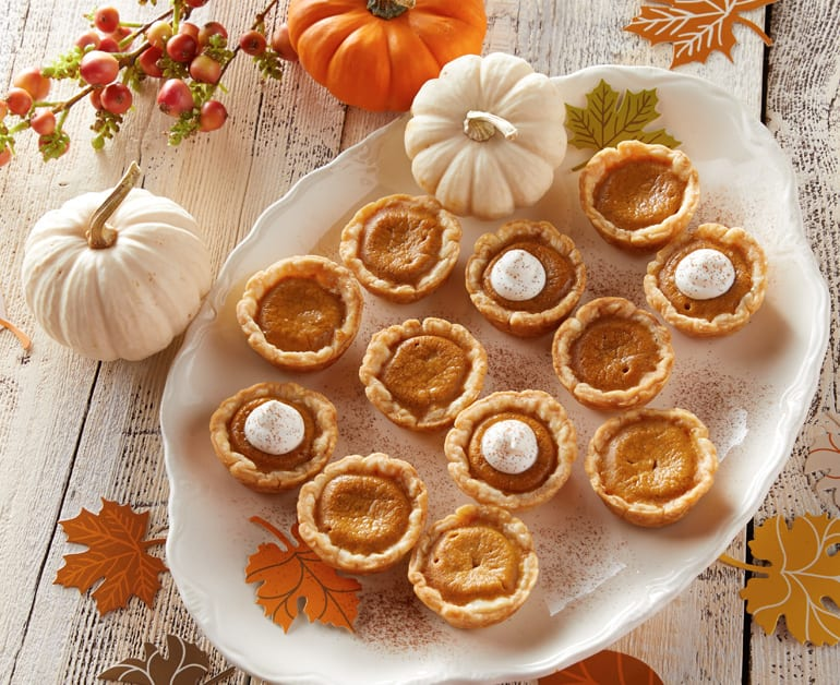 View recommended Easy Pumpkin Pie Bites recipe