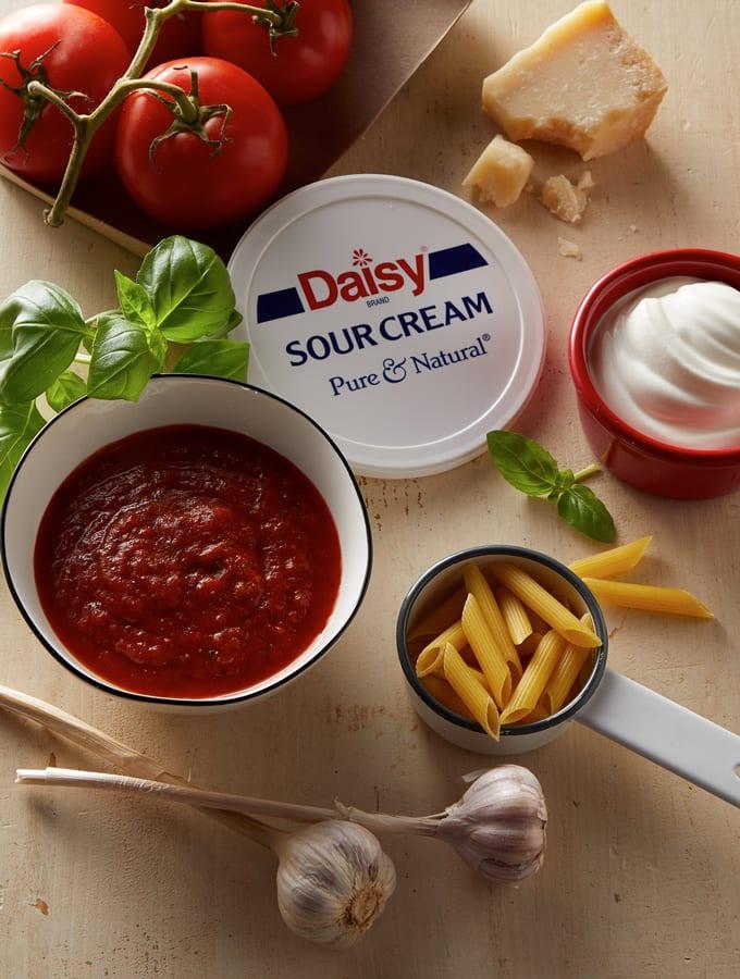 Pasta with Rose Cream Sauce slider image 2