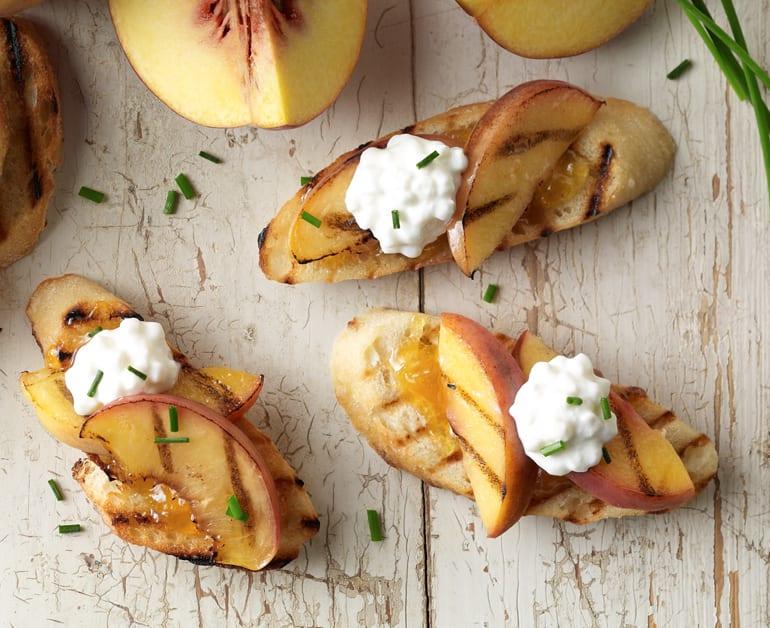 View recommended Peach Crostini recipe