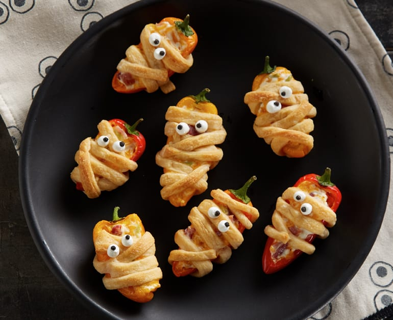 View recommended Pepper Popper Mummies recipe