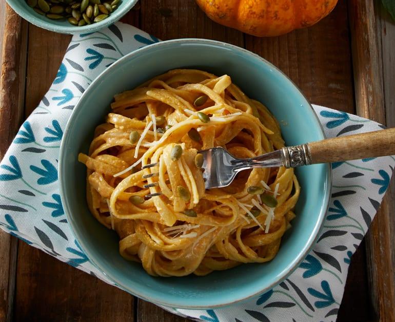 Click to open Creamy Pumpkin Fettuccine Alfredo recipe