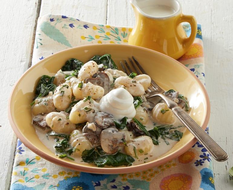 Click to open Creamy Mushroom Gnocchi recipe