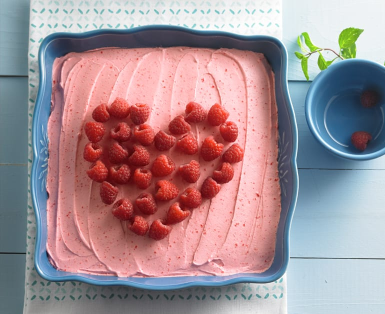 View recommended Raspberry Refrigerator Mousse recipe