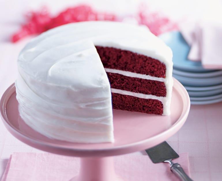 Daisy Sour Cream Red Velvet Cake slider image