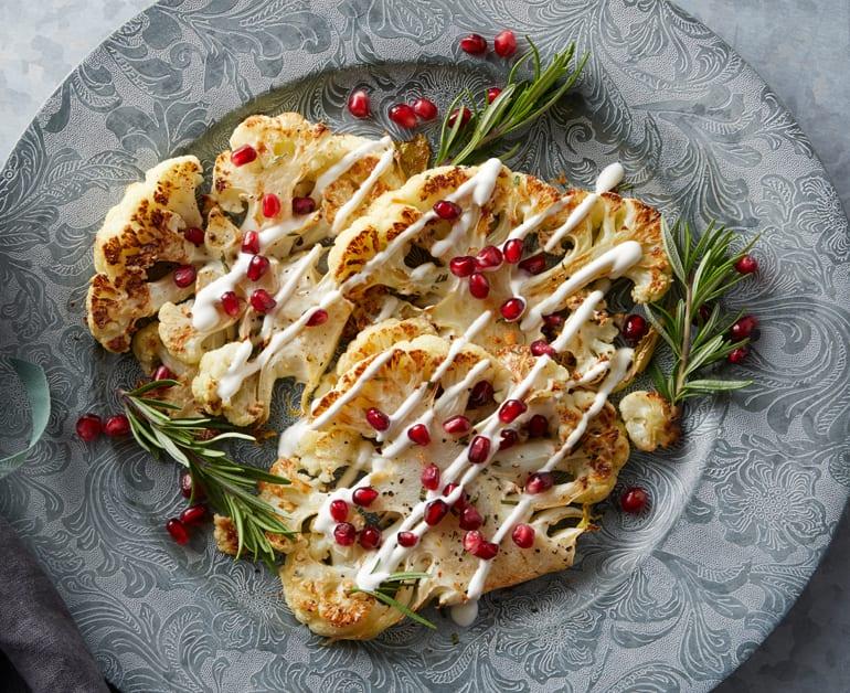 Click to open Roasted Cauliflower Steaks recipe