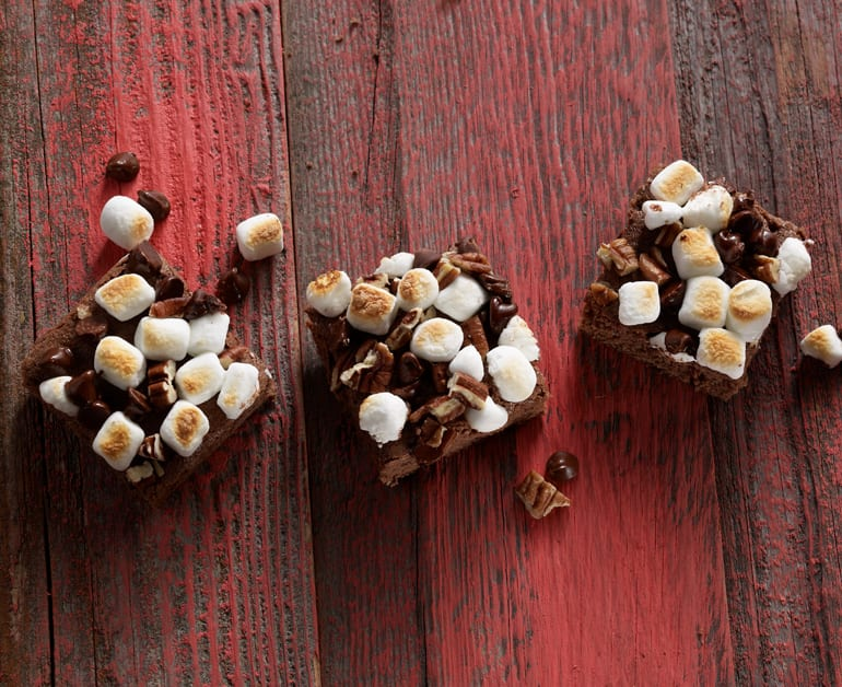 View recommended Rocky Road Brownies recipe