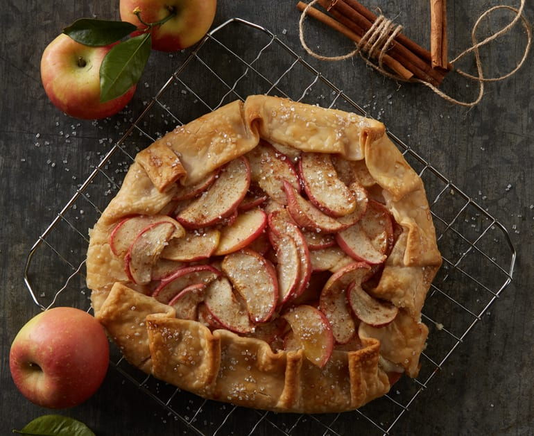 Rustic Apple Almond Tart slider image 1