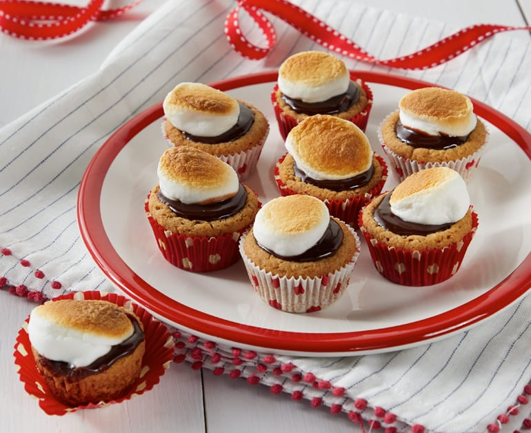 Thumbnail image for S'Mores Mini Tarts
