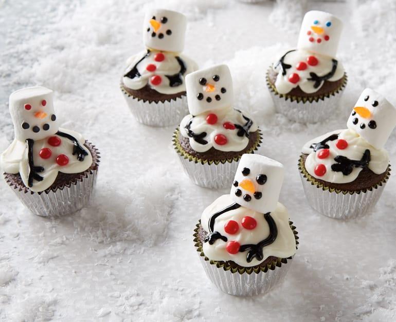 Thumbnail image for Snowman Cupcakes