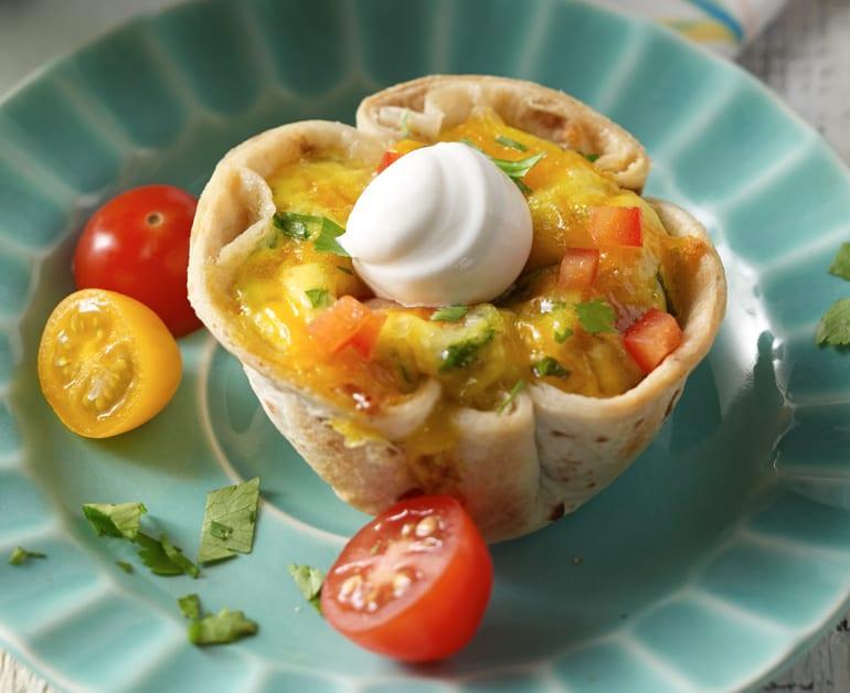 Thumbnail image for Bocadillos de Tortillas al Estilo del Sudoeste para Desayuno