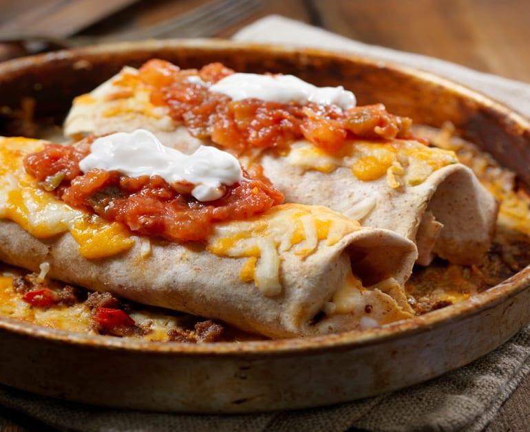 Spicy Chicken Burritos slider image 1