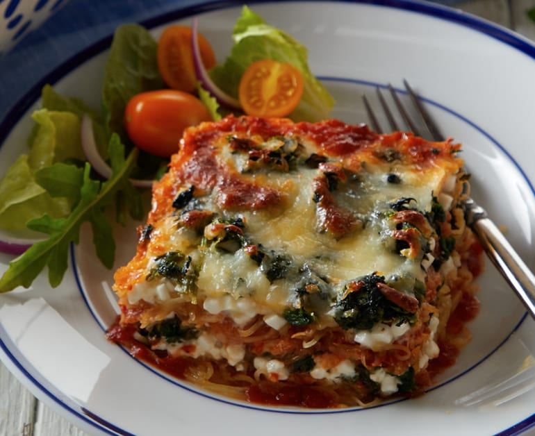 Spinach and Spaghetti Squash Lasagna slider image 1