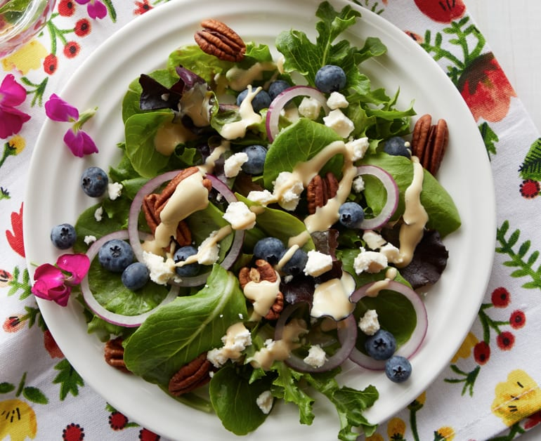 Click to open Individual Spring Salads recipe