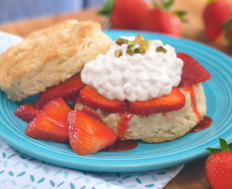 View recommended Strawberry Shortcake recipe