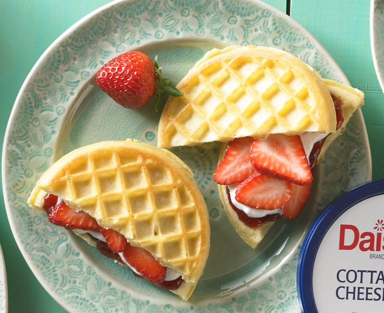 View recommended Strawberry Waffle Grilled Cheese recipe