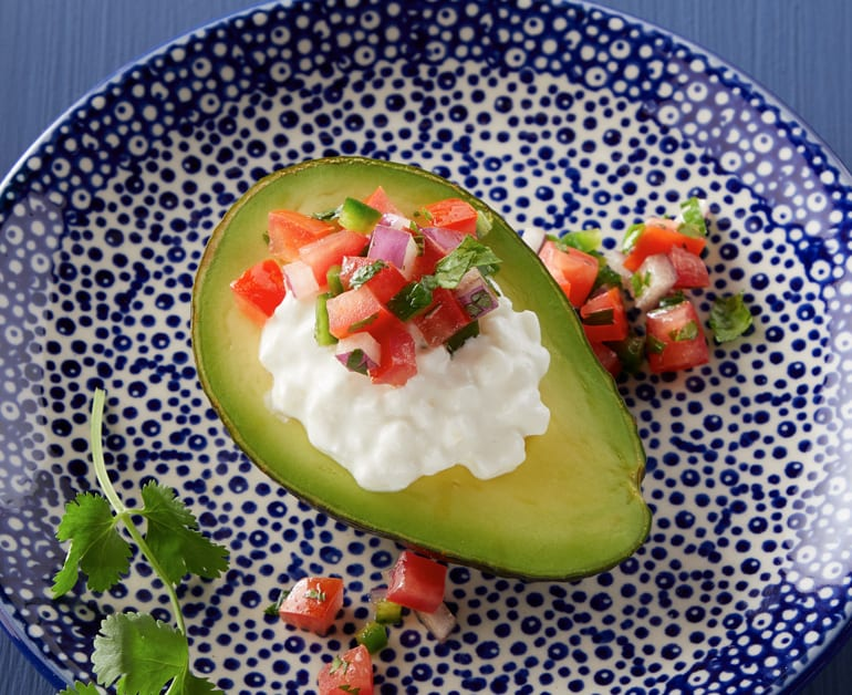 View recommended Southwest Stuffed Avocado recipe