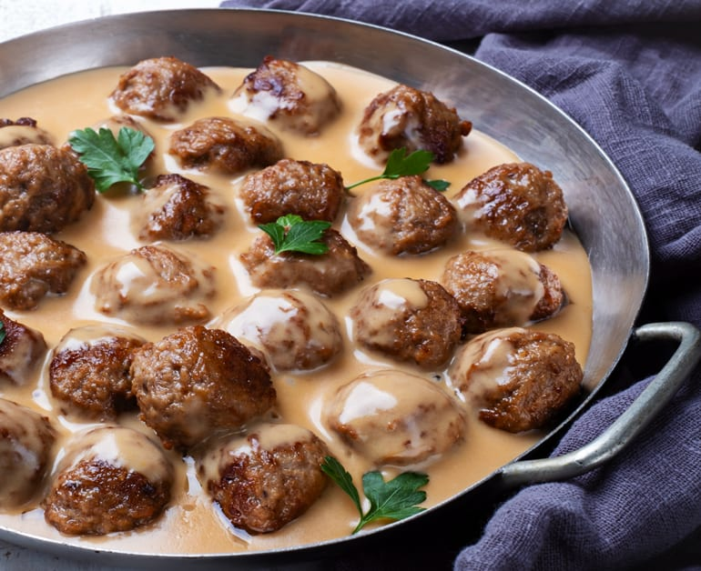 Swedish Meatballs in Sour Cream Sauce slider image 1