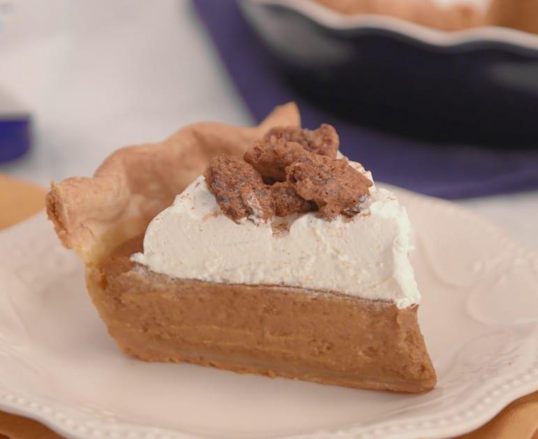 Sweet Potato Sour Cream Pie slider image 1