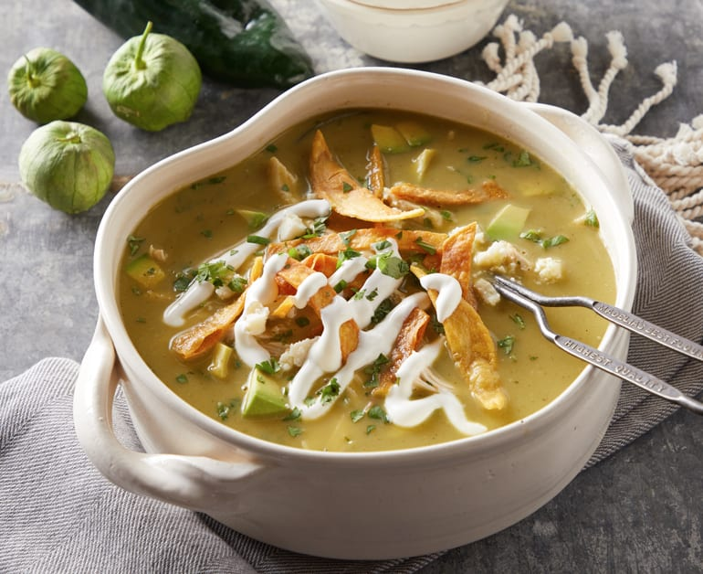 Click to open Tomatillo Tortilla Soup recipe