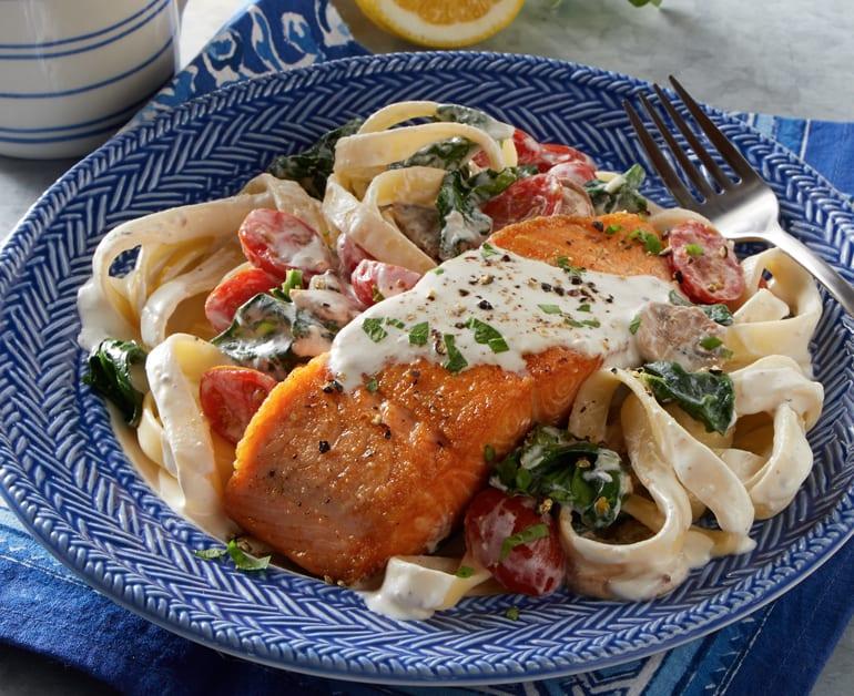 Click to open Quick Tuscan Salmon recipe