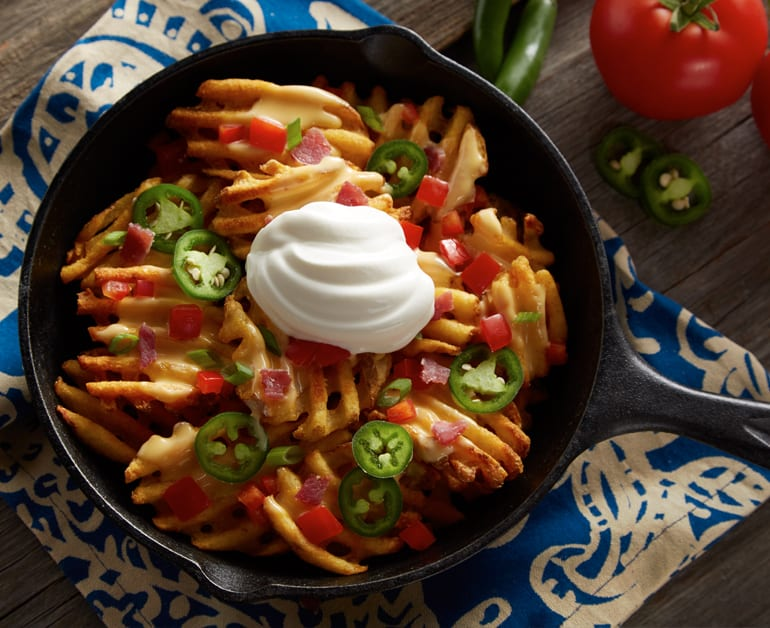 View recommended Nacho Waffle Fries recipe