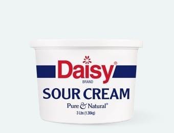 3 lb sour cream