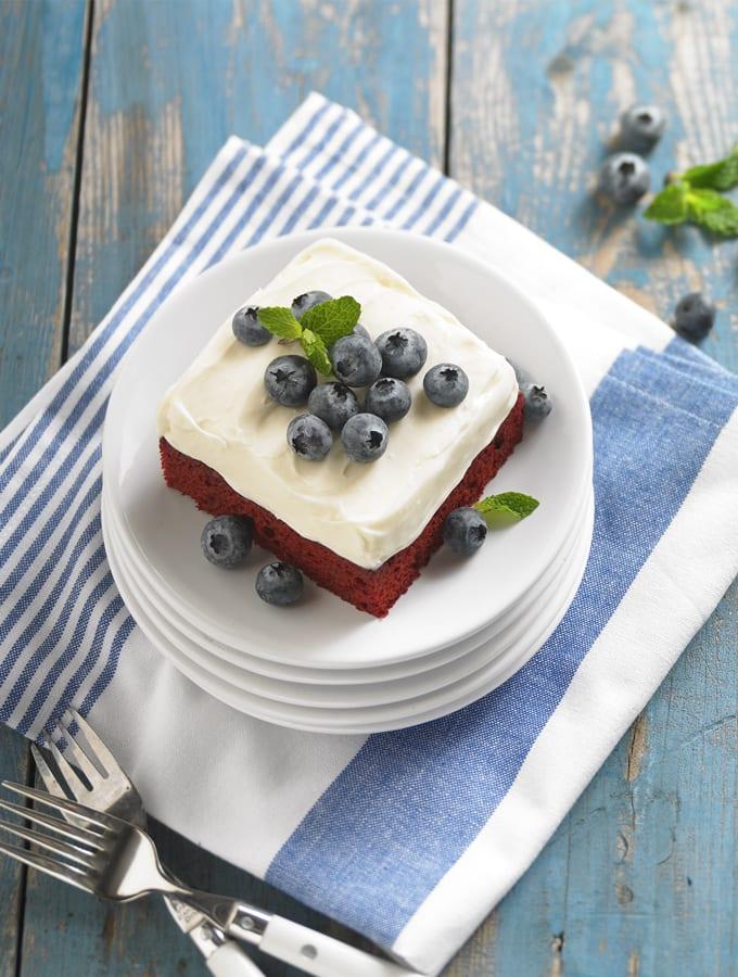 Daisy Sour Cream Red Velvet Cake slider image 2