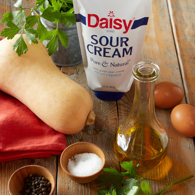 Easy Squash Oven Fritters