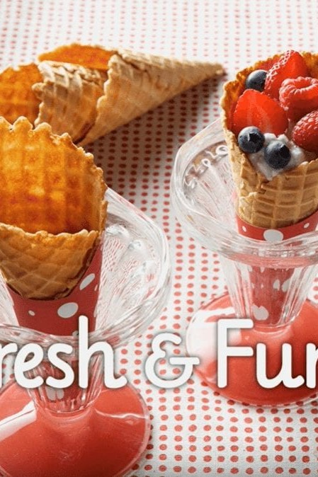 Fresh and Fruity Cones