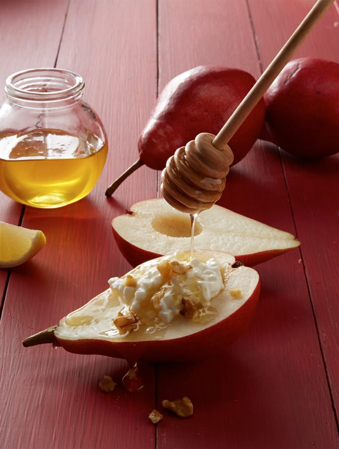 Fresh Pears with Honey and Walnuts slider image 3