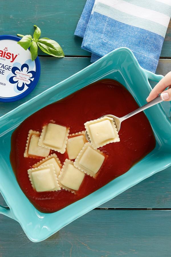 Quick Ravioli Lasagna