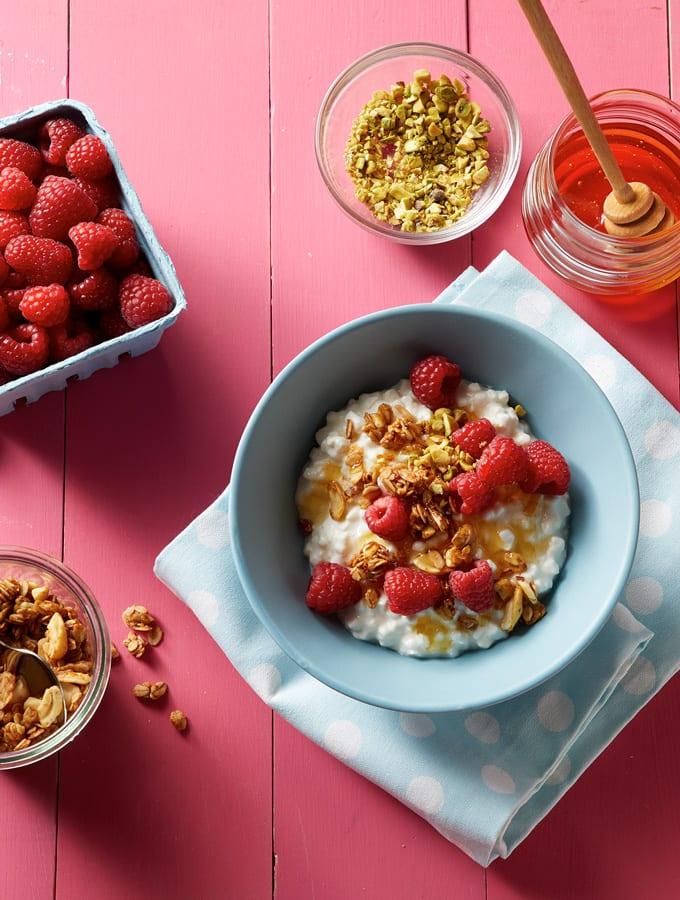 Raspberry Granola Breakfast Bowl slider image 3