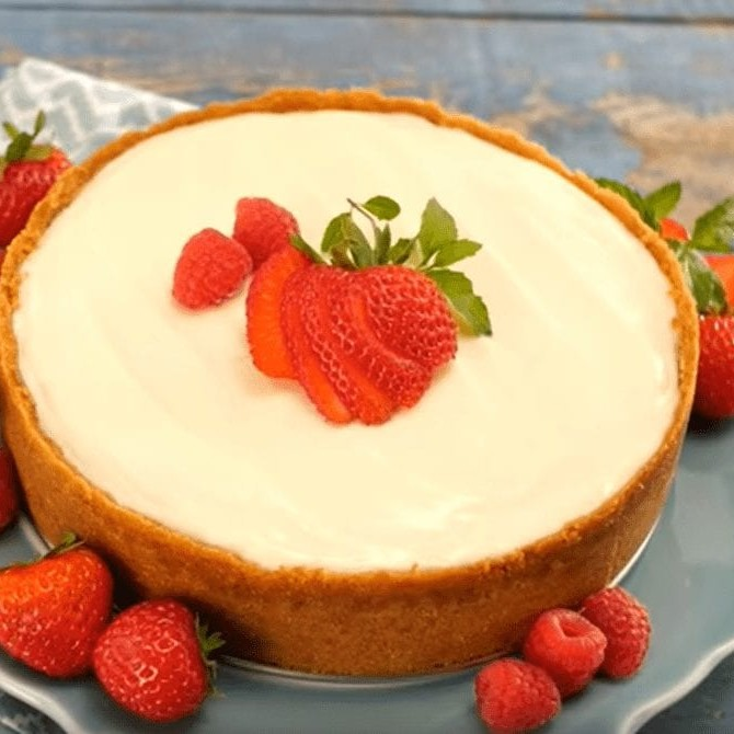 Sour Cream Cheescake