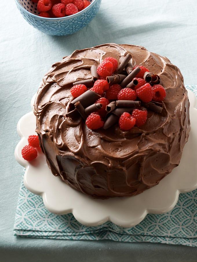 Sour Cream Chocolate Cake slider image 2