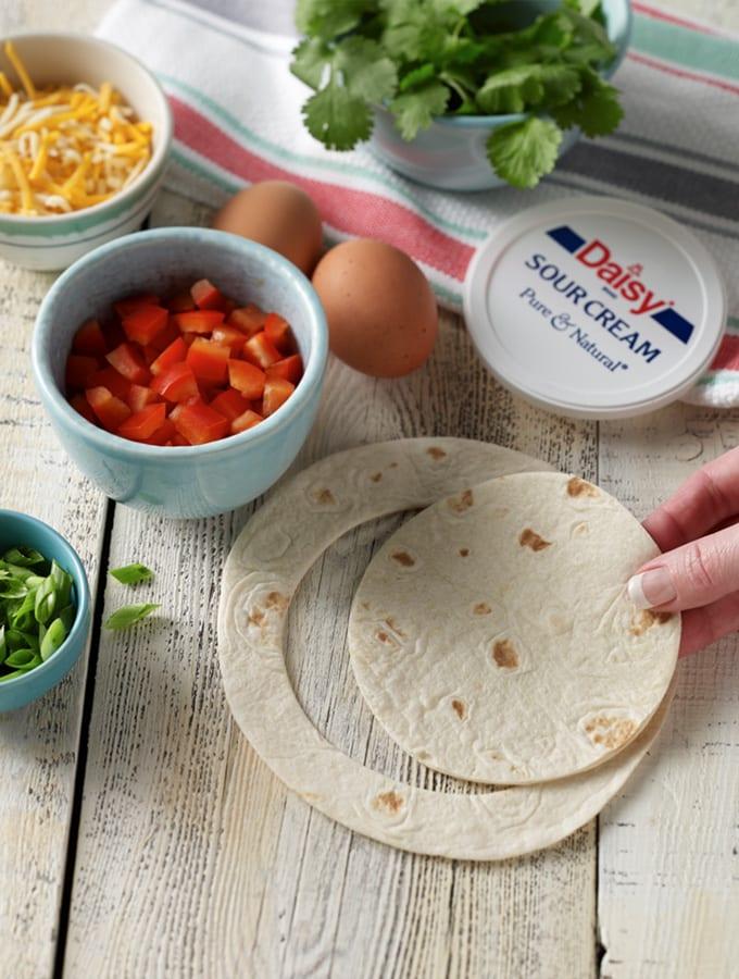 Southwest Breakfast Tortilla Cups slider image 2
