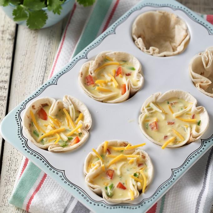 Southwest Breakfast Tortilla Cups
