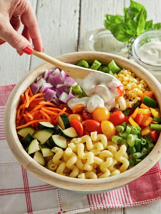 Summer Macaroni Salad slider image 3