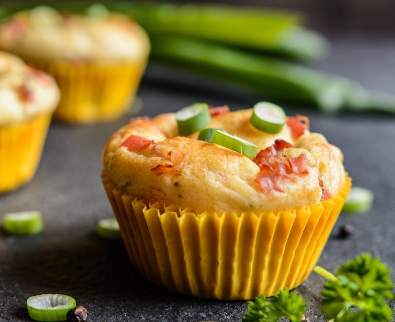Click to open Breakfast Bacon and Egg Muffins recipe