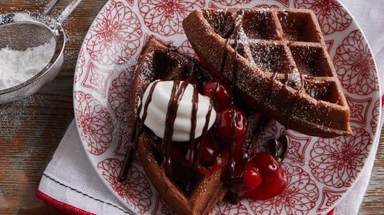 Black Forest Belgian Waffles