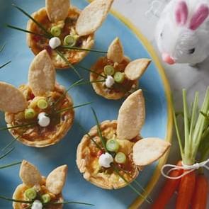 Mini Bunny Quiche